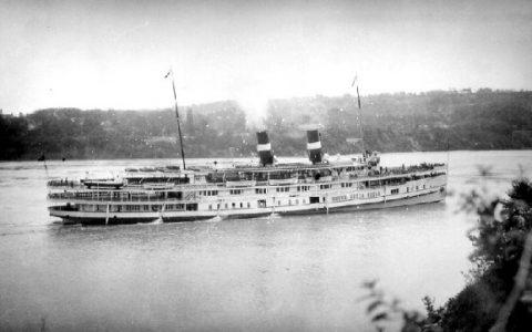 Cayuga on Niagara River